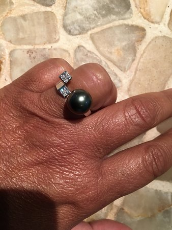 Deep Sea Pearls: voila ma belle bague