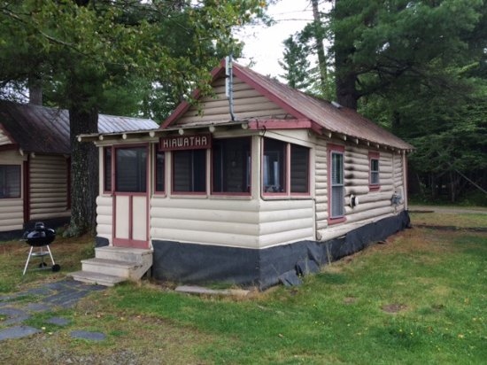 Greenville, ME : This is our cabin. Other photo better show side view of it and lake view.