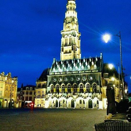 Arras, France : Place des Heros