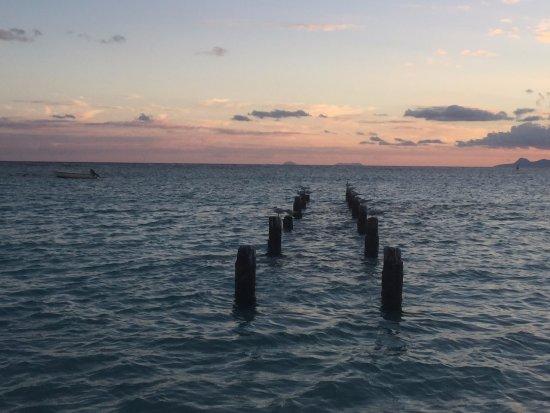 St. Anne Beach : tramonto
