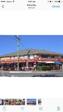 Hastings Point, Australia: New signage and new look for the store