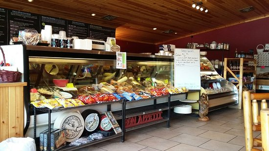 Mauston, WI: Lots to choose from in the deli case