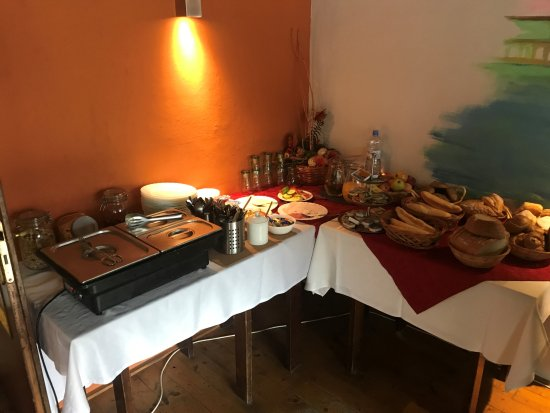 Zlin, Czech Republic: This is the complete breakfast