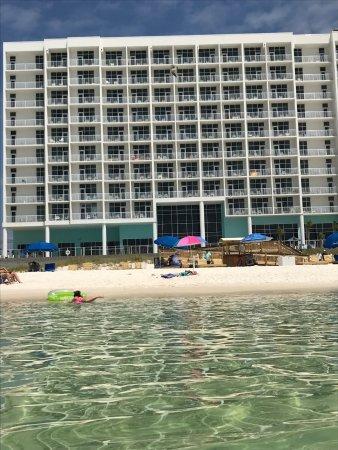 Hampton Inn Suites Panama City Beach Beachfront Photo
