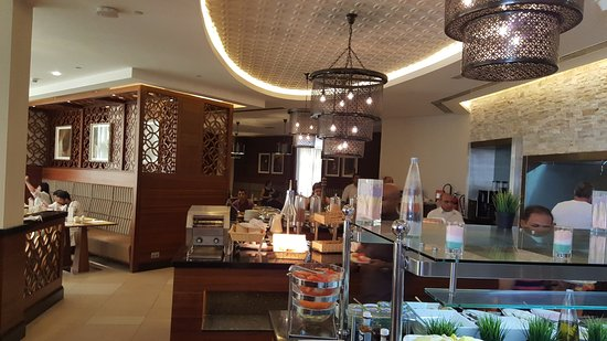 The Entrance - Picture of Hilton Garden Inn Dubai Al Mina ...