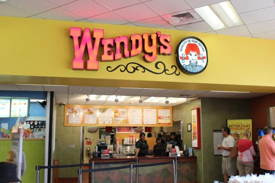 Kenly, NC: This Wendy's is part of a larger Food Court with plenty of seating and friendly service!