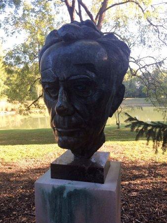 New Harmony, IN: Bust of Paul Tillich