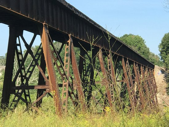 Austin Badger Park: Wheeling and Lake Erie trestle