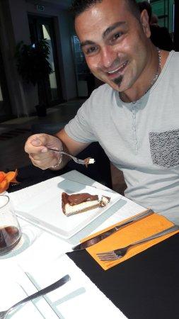 Pedara, Italy: Cheesecake alla nutella