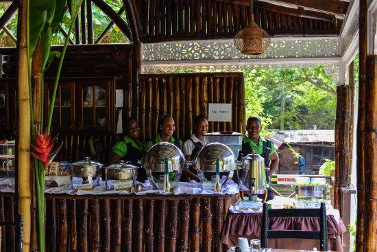 Fond Doux Plantation & Resort: Buffet