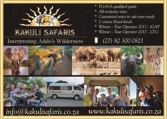 Colchester, South Africa: Kakuli Safaris Poster