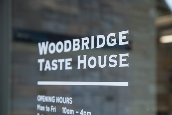 Woodbridge, Austrália: Welcome to the Taste House