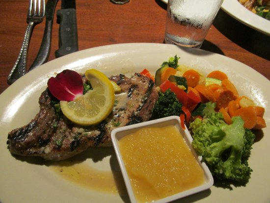 Grass Valley, CA: Pork chop