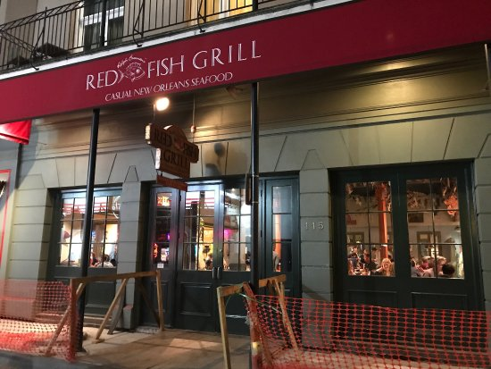 Red fish grill picture of red fish grill new orleans for Red fish grill new orleans la