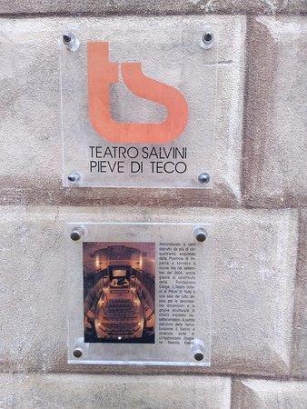 Teatro Salvini: Logo e info sintetiche
