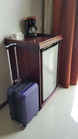Hotel Magic Mountain: Large in-room refrigerator