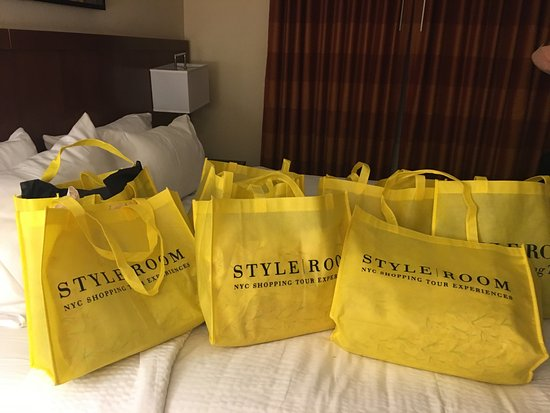 Style Room NYC Shopping Tour Experiences: Going to be weight challenged with luggage going back home!