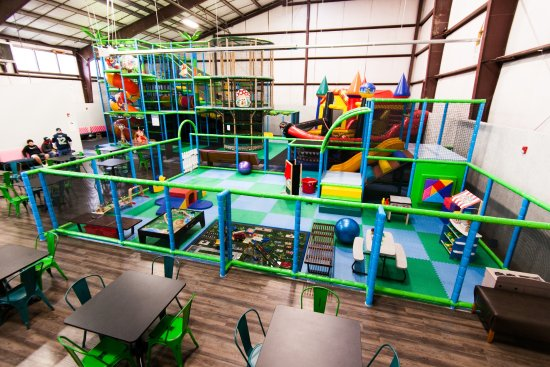 Bremerton, WA: Three Play Zones for big kids and small kids alike!