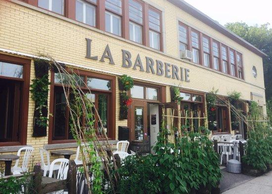 La Barberie : Big patio