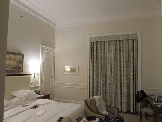 Belmond Copacabana Palace: Part of our room- doesn't show the grand entry his/her closets and nice bathroom