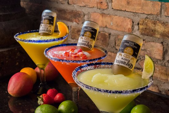 Gautier, MS: Nothing beats a summers heat than our one of a kind margaritas combined with a chilled corona.