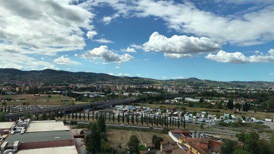Hilton Florence Metropole : High Floor View