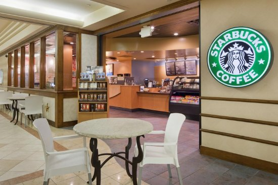 Doubletree By Hilton at the Entrance to Universal Orlando: Starbucks