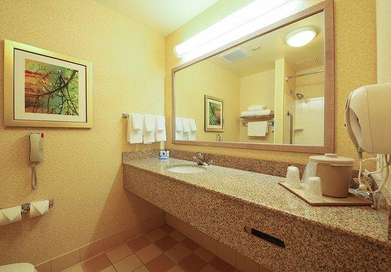 Cordele, جورجيا: Guestroom Bathroom