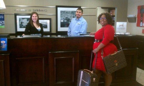 Hampton Inn & Suites Lubbock Southwest: Front Desk