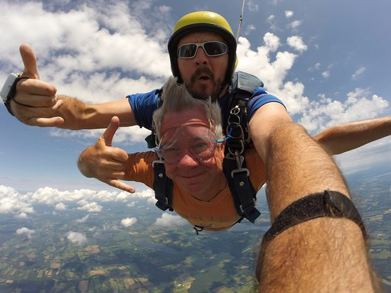 Weedsport, Estado de Nueva York: Tandem Skydive