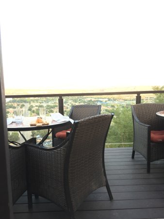 Amazing view, gourmet delights, gluten free friendly