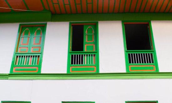 Casa Colonial Hostal: vista desde la calle