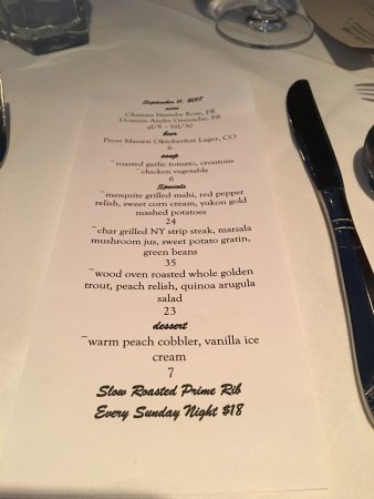 Lakewood, CO: Menus, view of kitchen, wine list and my cioppino