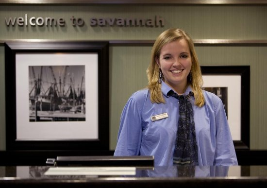 Hampton Inn & Suites Savannah Airport: Welcome to our Hampton!