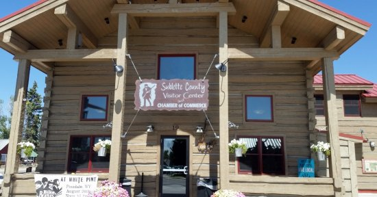 Pinedale, WY: Sublette County Visitor Center