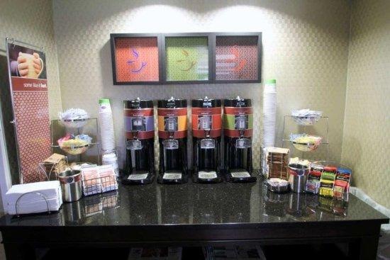 Williamston, Carolina del Norte: Coffee Station
