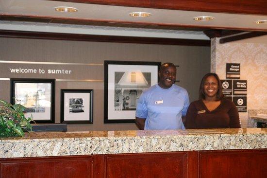 Sumter, SC: Front Desk Concierge