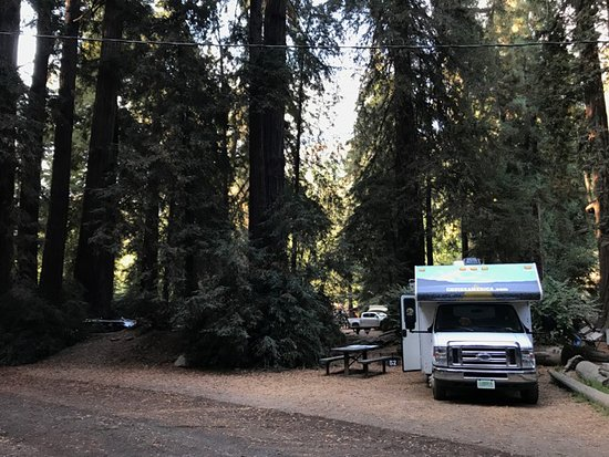 Big Sur Campground & Cabins: my RV spot