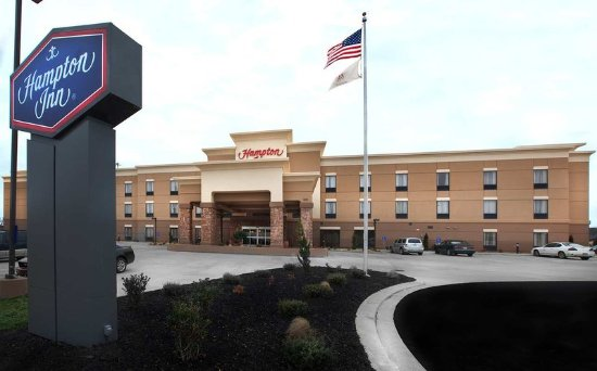 Welcome to the Hampton Inn New Albany, MS