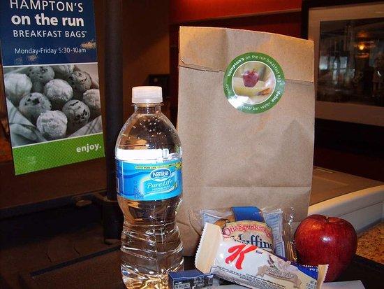Victor, Нью-Йорк: Breakfast Bag