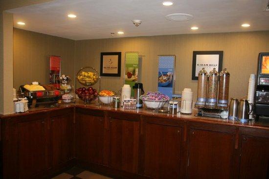 Victor, NY: Breakfast Area