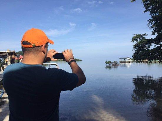 Portobelo, Panama: View from base