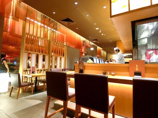 Interior picture of touan japanese restaurant kuala