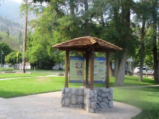 Information Kiosk, Mormon Station State Historic Park, Genoa, Nevada