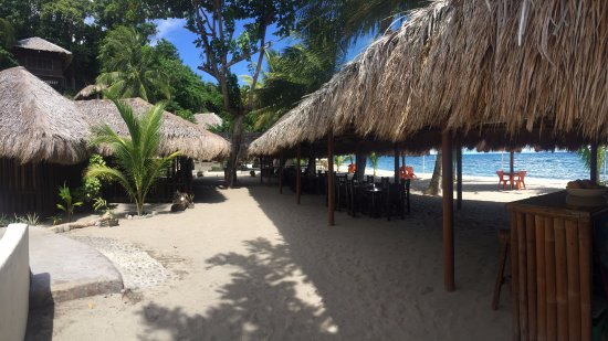 Cove Paradise Beach & Dive Resort: Restauran