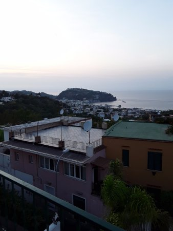 Hotel Villa Sirena: view from the roof - loved it
