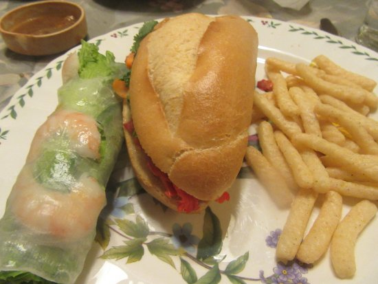 Shrimp Roll, Number 4 Sandwich, Houng Lan Sandwich, Milpitas, CA