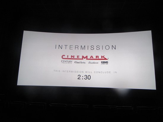Intermission (Indian Movie) Cinemark 20 Great Mall, Milpitas