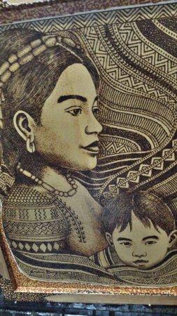 Tam-Awan Village: The art