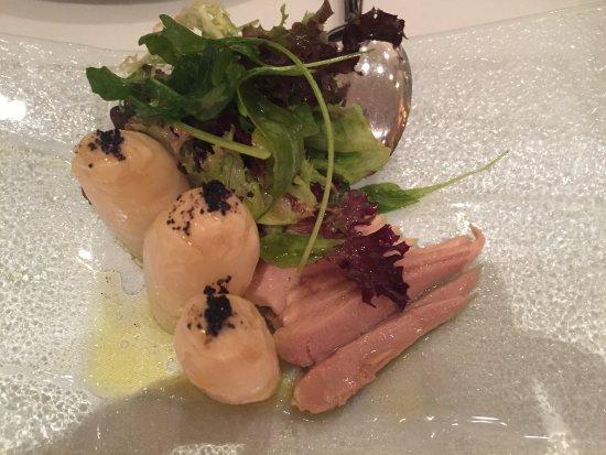 Goizeko Kabi : Ensalada de espárragos y ventresca
